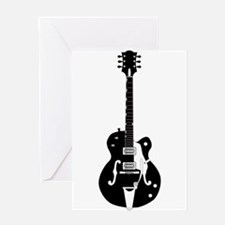 Country Guitar Greeting Cards
