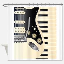 Music Duo Shower Curtain