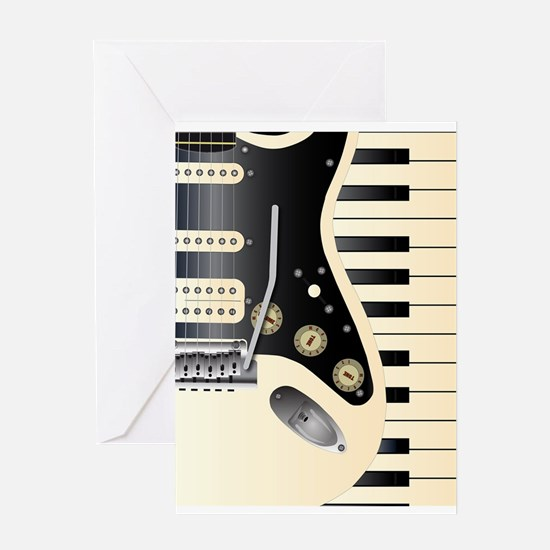 Music Duo Greeting Cards
