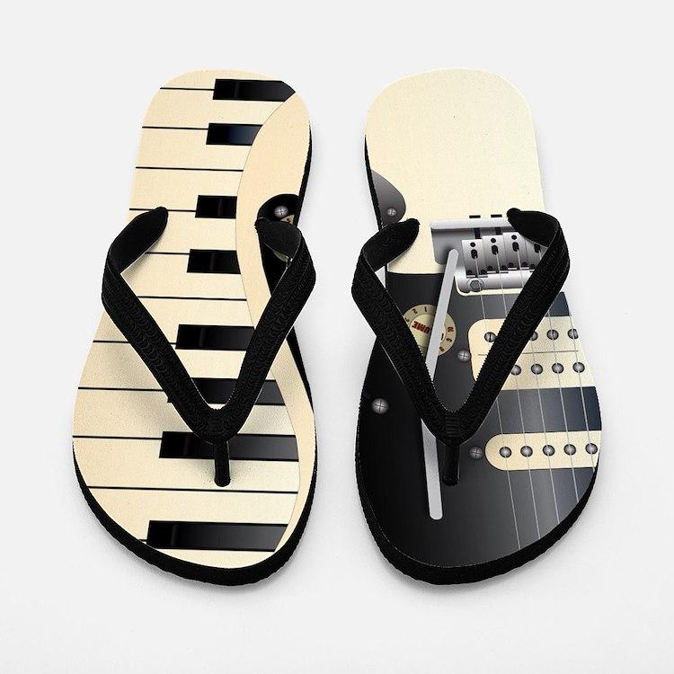 Music Duo Flip Flops