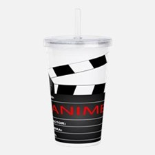Animi Clapper Board Acrylic Double-wall Tumbler