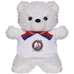 Dusty Dragon Christmas Teddy Bear