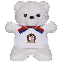Big Bad Wolf Christmas Teddy Bear