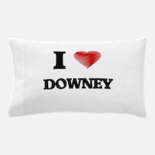 I Heart DOWNEY Pillow Case