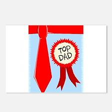 Top Dad Postcards (Package of 8)