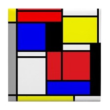 Abstraction 1, Tile Coaster