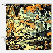 Brown fine art Shower Curtain