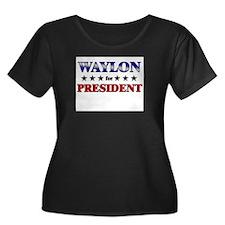 WAYLON for president T
