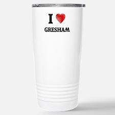 I Heart GRESHAM Travel Mug