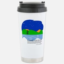 Unique Life art Travel Mug