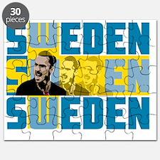 Cute Swedish football Puzzle