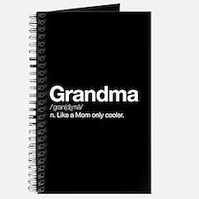 Grandma Definition Journal
