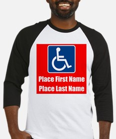 Handicapped Disabled Baseball Jersey