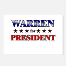 WARREN for president Postcards (Package of 8)