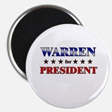 WARREN for president Magnet