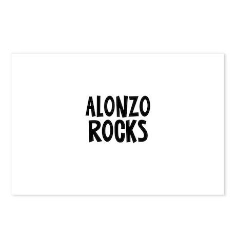 Alonzo Rocks Postcards (Package of 8)
