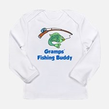Gramps' Fishing Buddy Long Sleeve T-Shirt
