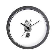 Cute Waterfall window Wall Clock