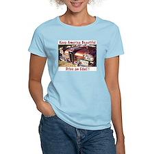 Women's Pink Edsel T-Shirt