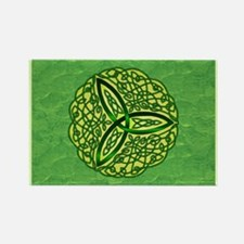 Green Celtic Trinity Knot Magnets