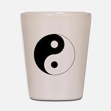 Yin Yang Symbol Shot Glass