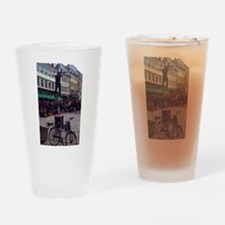 Man of Fire Drinking Glass