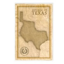 Republic of Texas Postcards (Package of 8)