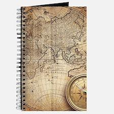 Vintage Map Journal