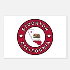 Stockton California Postcards (Package of 8)