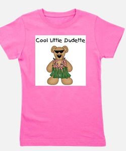 Cute Kids hawaii Girl's Tee
