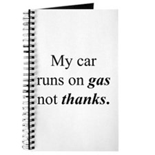 """Gas Not Thanks"" Journal"