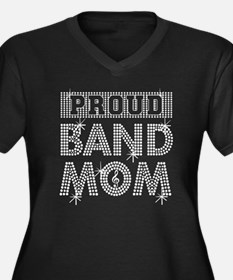 PROUD BAND MOM Plus Size T-Shirt