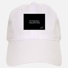 The truth hurts trump 2016-2024 Baseball Baseball Cap