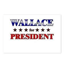 WALLACE for president Postcards (Package of 8)