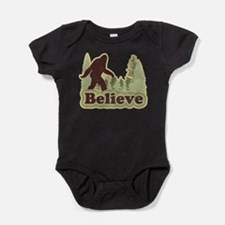 Cute Squatching Baby Bodysuit