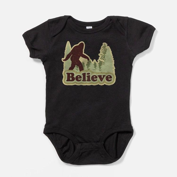Cute Squatch Baby Bodysuit