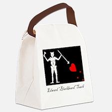 Blackbeard's Flag Canvas Lunch Bag