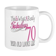 70th Birthday Gifts Mug