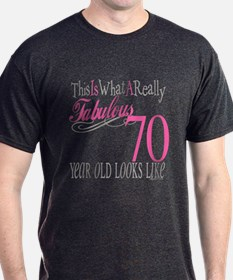 70th Birthday Gifts T-Shirt