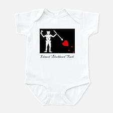 Blackbeard's Flag Infant's Body Suit