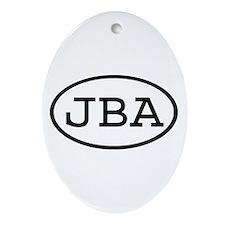JBA Oval Oval Ornament