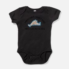 Cute Cape pogue Baby Bodysuit