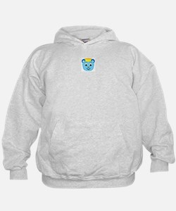 Your Friend: Little King Blue Bear Hoodie