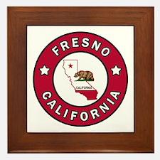 Unique Fresno california Framed Tile