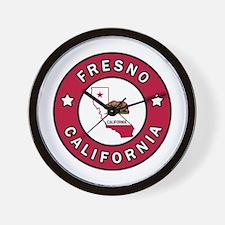 Unique Fresno california Wall Clock