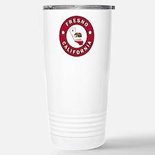 Fresno Stainless Steel Travel Mug
