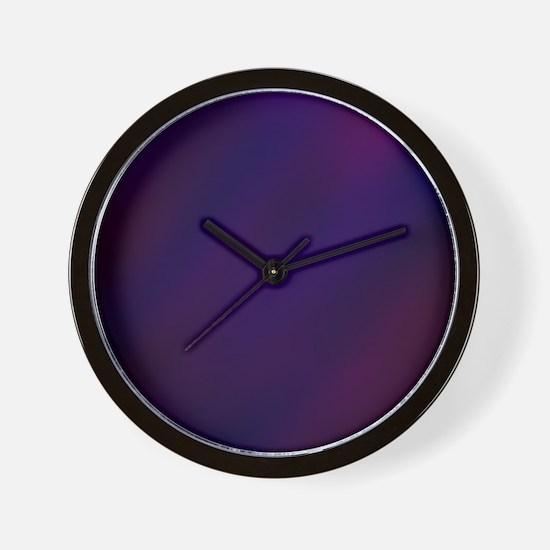 Abstract Haze Wall Clock