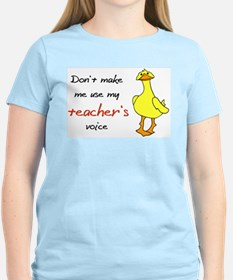 tackyduckteachersvoice T-Shirt