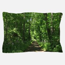 Path into the woods Pillow Case