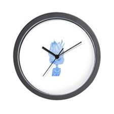 Unique Waterfall window Wall Clock